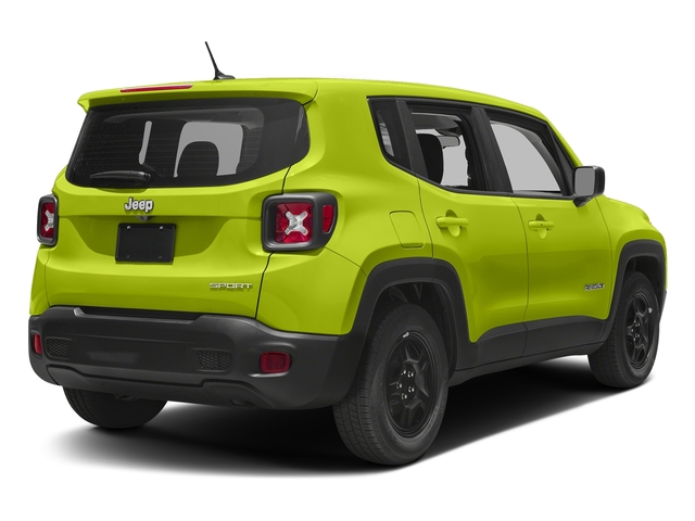 Hypergreen Clearcoat 2018 Jeep Renegade Pictures Renegade Upland Edition 4x4 photos rear view