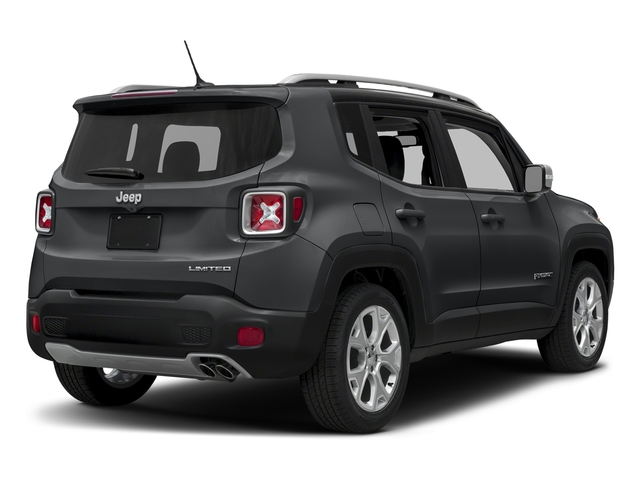 Granite Crystal Metallic Clearcoat 2018 Jeep Renegade Pictures Renegade Limited FWD photos rear view