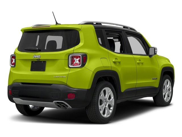 Hypergreen Clearcoat 2018 Jeep Renegade Pictures Renegade Limited FWD photos rear view