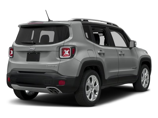 Glacier Metallic 2018 Jeep Renegade Pictures Renegade Limited FWD photos rear view