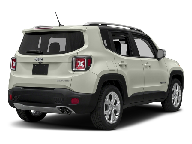 Alpine White 2018 Jeep Renegade Pictures Renegade Limited FWD photos rear view