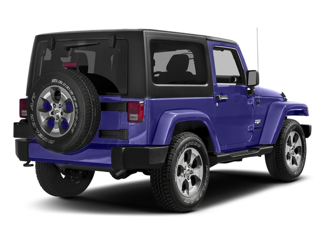 Xtreme Purple Pearlcoat 2018 Jeep Wrangler JK Pictures Wrangler JK Utility 2D Sahara 4WD photos rear view