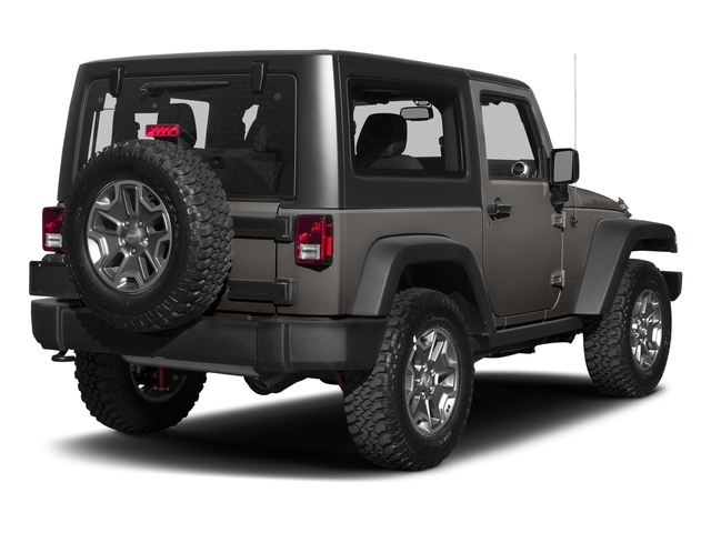 Granite Crystal Metallic Clearcoat 2018 Jeep Wrangler JK Pictures Wrangler JK Utility 2D Rubicon Recon 4WD V6 photos rear view