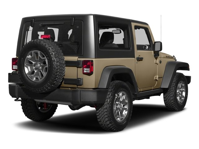 Gobi Clearcoat 2018 Jeep Wrangler JK Pictures Wrangler JK Utility 2D Rubicon Recon 4WD V6 photos rear view