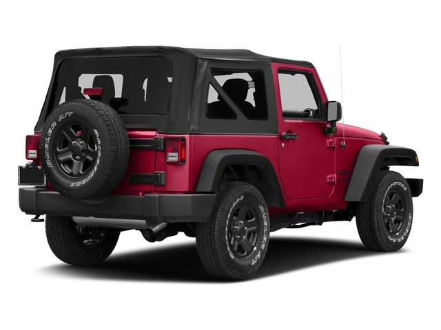 Firecracker Red Clearcoat 2018 Jeep Wrangler JK Pictures Wrangler JK Utility 2D Sport 4WD photos rear view