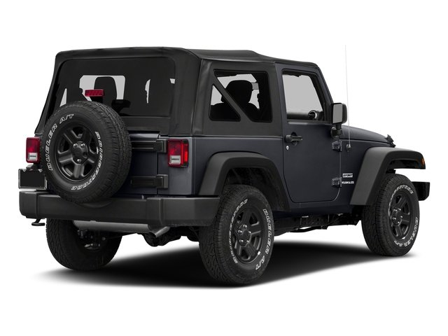 Rhino Clearcoat 2018 Jeep Wrangler JK Pictures Wrangler JK Utility 2D Sport 4WD photos rear view