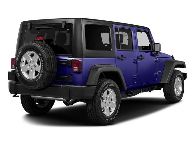 Xtreme Purple Pearlcoat 2018 Jeep Wrangler JK Unlimited Pictures Wrangler JK Unlimited Sport RHD 4x4 photos rear view