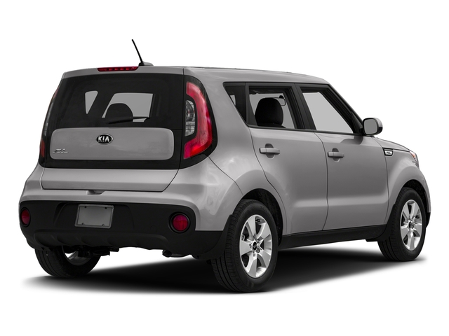 Bright Silver 2018 Kia Soul Pictures Soul Base Auto photos rear view