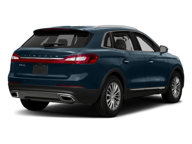Blue Diamond Metallic 2018 Lincoln MKX Pictures MKX Utility 4D Premiere 2WD V6 photos rear view