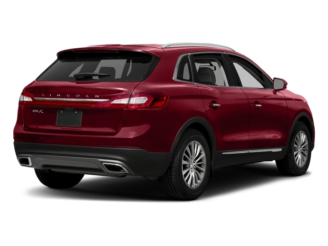 Ruby Red Metallic Tinted Clearcoat 2018 Lincoln MKX Pictures MKX Utility 4D Premiere 2WD V6 photos rear view