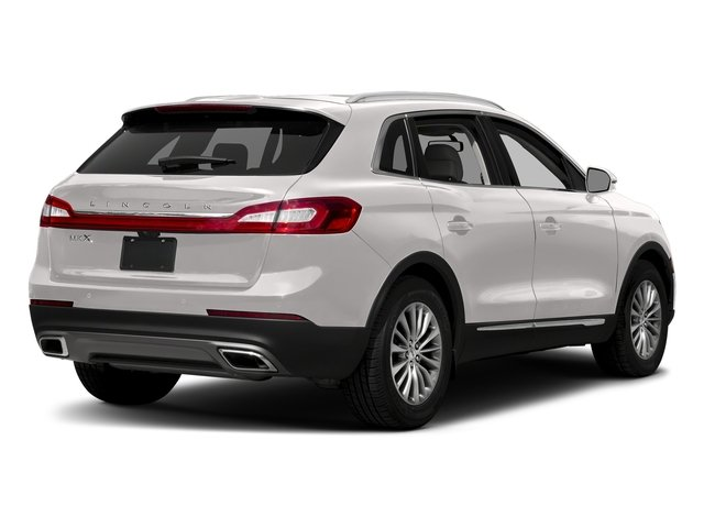 White Platinum Metallic Tri-Coat 2018 Lincoln MKX Pictures MKX Utility 4D Premiere 2WD V6 photos rear view