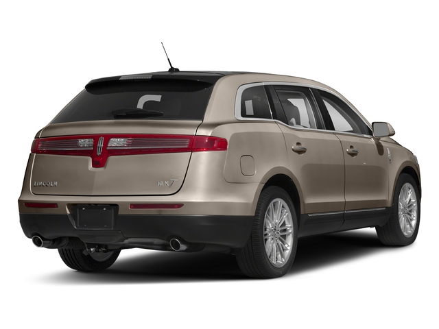 Iced Mocha Metallic 2018 Lincoln MKT Pictures MKT Wagon 4D Town Car AWD V6 photos rear view