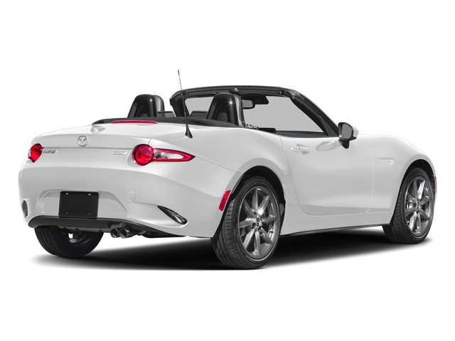 Snowflake White Pearl Mica 2018 Mazda MX-5 Miata Pictures MX-5 Miata Grand Touring Manual photos rear view