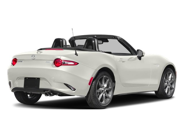 Arctic White 2018 Mazda MX-5 Miata Pictures MX-5 Miata Club Auto photos rear view