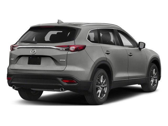 Sonic Silver Metallic 2018 Mazda CX-9 Pictures CX-9 Sport FWD photos rear view