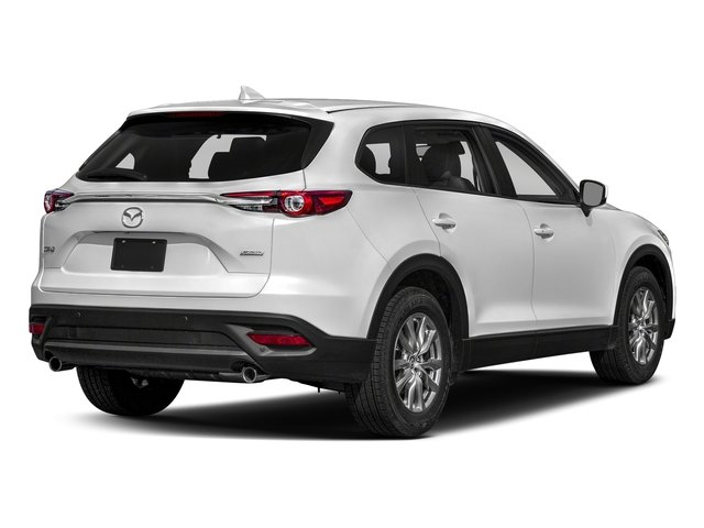 Snowflake White Pearl Mica 2018 Mazda CX-9 Pictures CX-9 Touring AWD photos rear view