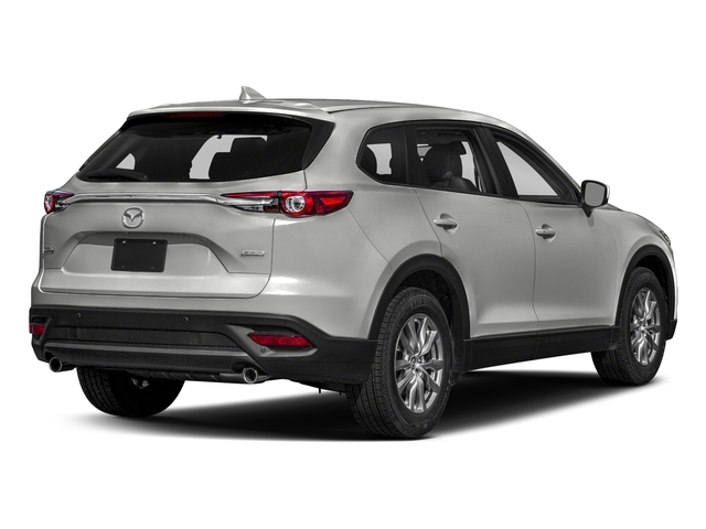 Sonic Silver Metallic 2018 Mazda CX-9 Pictures CX-9 Touring AWD photos rear view