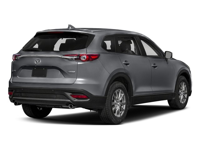 Machine Gray Metallic 2018 Mazda CX-9 Pictures CX-9 Touring AWD photos rear view