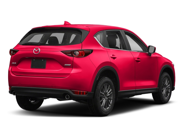 Soul Red Crystal Metallic 2018 Mazda CX-5 Pictures CX-5 Sport FWD photos rear view