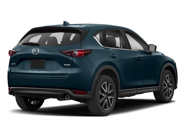 Deep Crystal Blue Mica 2018 Mazda CX-5 Pictures CX-5 Utility 4D Touring AWD I4 photos rear view
