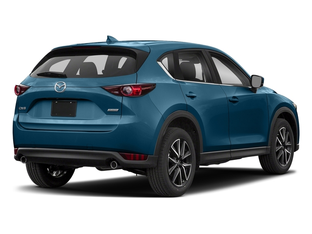 Eternal Blue Mica 2018 Mazda CX-5 Pictures CX-5 Utility 4D Touring AWD I4 photos rear view