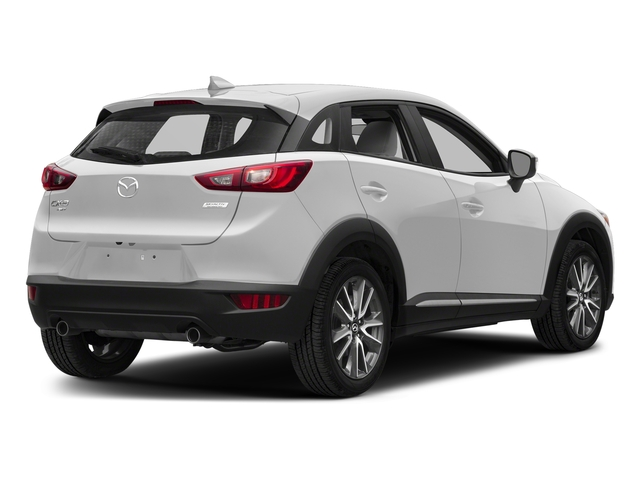 Snowflake White Pearl Mica 2018 Mazda CX-3 Pictures CX-3 Utility 4D GT AWD I4 photos rear view