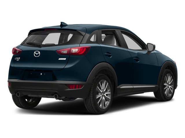 Deep Crystal Blue Mica 2018 Mazda CX-3 Pictures CX-3 Utility 4D GT AWD I4 photos rear view