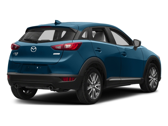 Eternal Blue Mica 2018 Mazda CX-3 Pictures CX-3 Utility 4D GT AWD I4 photos rear view