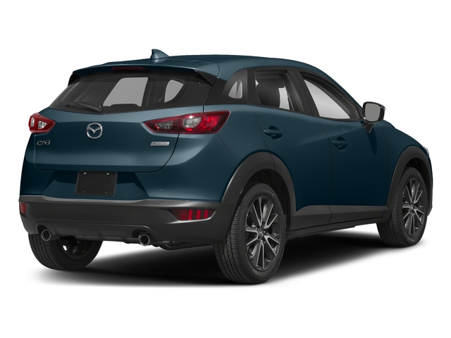 Deep Crystal Blue Mica 2018 Mazda CX-3 Pictures CX-3 Touring FWD photos rear view