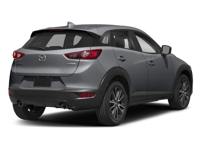 Machine Gray Metallic 2018 Mazda CX-3 Pictures CX-3 Touring FWD photos rear view