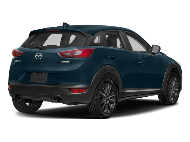Deep Crystal Blue Mica 2018 Mazda CX-3 Pictures CX-3 Grand Touring FWD photos rear view