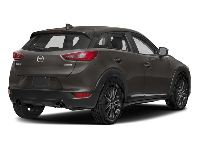 Titanium Flash Mica 2018 Mazda CX-3 Pictures CX-3 Grand Touring FWD photos rear view