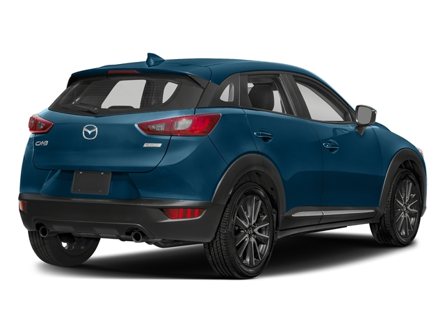 Eternal Blue Mica 2018 Mazda CX-3 Pictures CX-3 Grand Touring FWD photos rear view