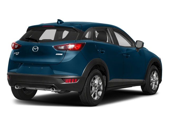 Eternal Blue Mica 2018 Mazda CX-3 Pictures CX-3 Sport AWD photos rear view