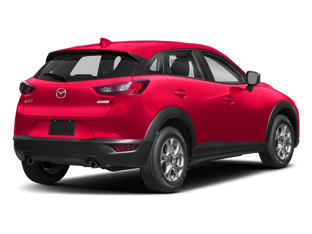 Soul Red Metallic 2018 Mazda CX-3 Pictures CX-3 Sport FWD photos rear view
