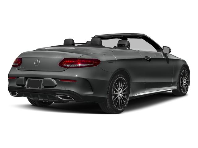 Selenite Grey Metallic 2018 Mercedes-Benz C-Class Pictures C-Class C 300 Cabriolet photos rear view