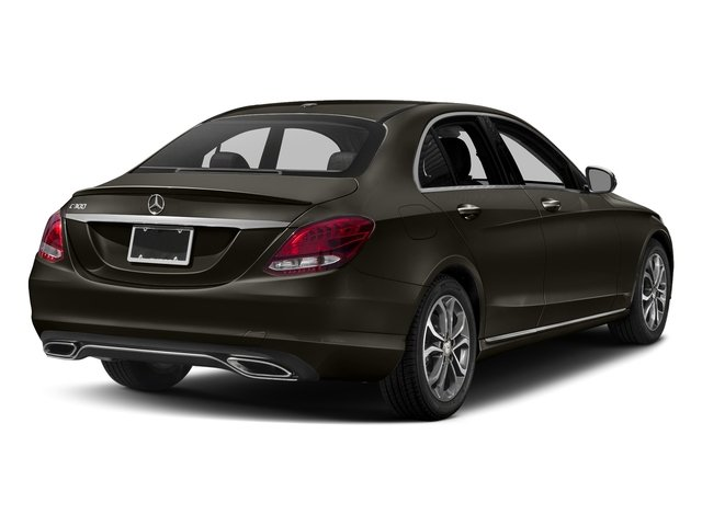 Dakota Brown Metallic 2018 Mercedes-Benz C-Class Pictures C-Class C 300 Sedan photos rear view