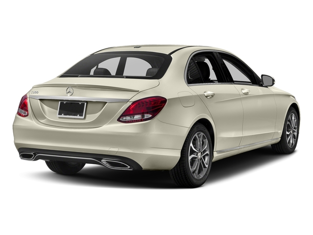 designo Diamond White Metallic 2018 Mercedes-Benz C-Class Pictures C-Class C 300 Sedan photos rear view