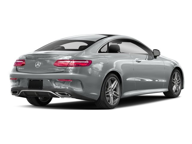 Iridium Silver Metallic 2018 Mercedes-Benz E-Class Pictures E-Class E 400 4MATIC Coupe photos rear view