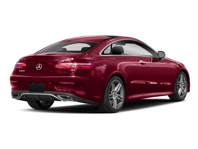 designo Cardinal Red Metallic 2018 Mercedes-Benz E-Class Pictures E-Class E 400 4MATIC Coupe photos rear view