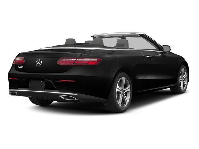 Obsidian Black Metallic 2018 Mercedes-Benz E-Class Pictures E-Class E 400 4MATIC Cabriolet photos rear view