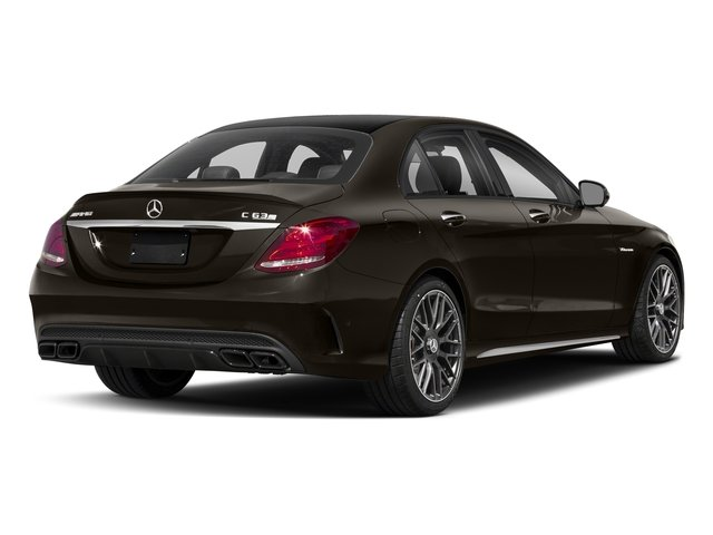 Dakota Brown Metallic 2018 Mercedes-Benz C-Class Pictures C-Class AMG C 63 S Sedan photos rear view