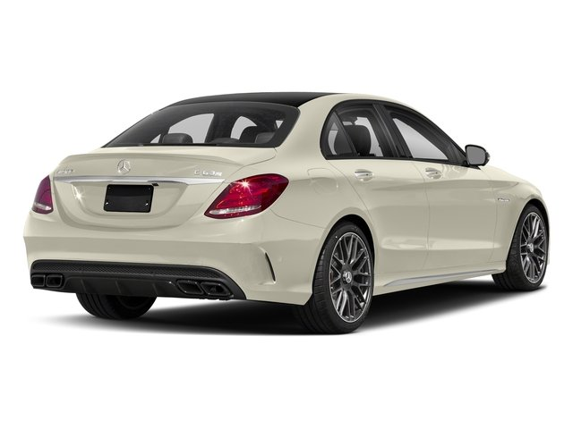 designo Diamond White Metallic 2018 Mercedes-Benz C-Class Pictures C-Class AMG C 63 S Sedan photos rear view