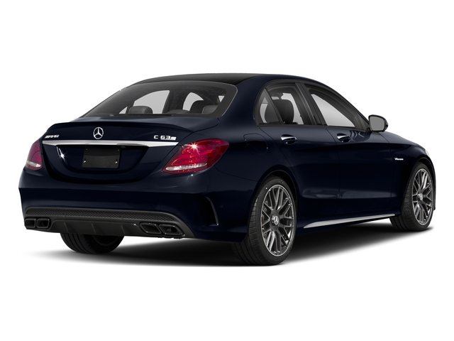 Lunar Blue Metallic 2018 Mercedes-Benz C-Class Pictures C-Class AMG C 63 S Sedan photos rear view