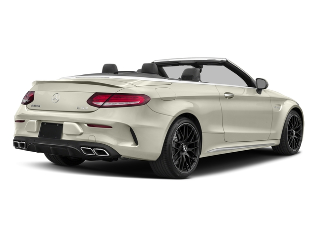 Polar White 2018 Mercedes-Benz C-Class Pictures C-Class AMG C 63 Cabriolet photos rear view