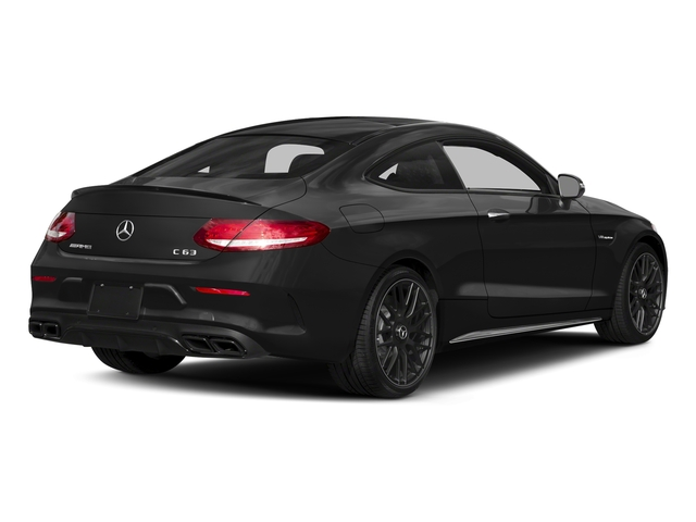 Obsidian Black Metallic 2018 Mercedes-Benz C-Class Pictures C-Class Coupe 2D C63 AMG V8 Turbo photos rear view