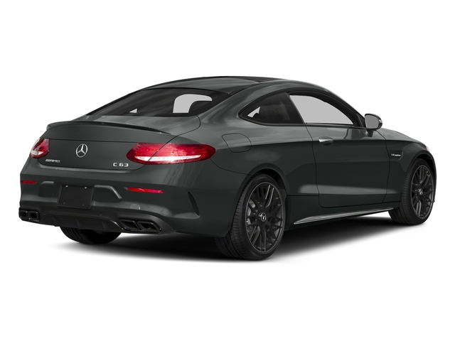 Selenite Grey Metallic 2018 Mercedes-Benz C-Class Pictures C-Class Coupe 2D C63 AMG V8 Turbo photos rear view
