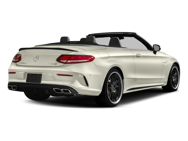 Polar White 2018 Mercedes-Benz C-Class Pictures C-Class AMG C 63 S Cabriolet photos rear view