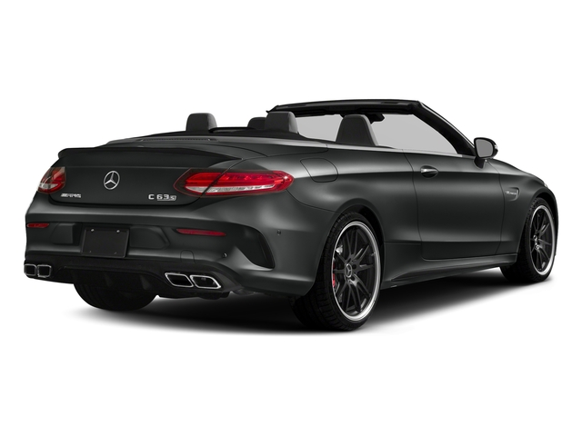 Selenite Grey Metallic 2018 Mercedes-Benz C-Class Pictures C-Class AMG C 63 S Cabriolet photos rear view