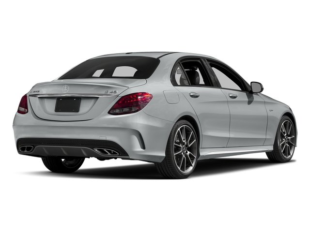 Iridium Silver Metallic 2018 Mercedes-Benz C-Class Pictures C-Class AMG C 43 4MATIC Sedan photos rear view